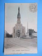 2809 Francia France Paris L'Eglise D'Auteuil 1910 - Zonder Classificatie