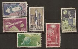 CZECHOSLOVAKIA 1962 Space Flights - Space