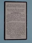 DP Eduardus VERHOEVEN ( Maria Brabants ) Tremeloo 16 April 1851 - Schrieck 20 Juni 1927 ( Zie Foto´s ) !