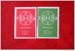 Europa CEPT NVPH 727-728 (Mi 735-736); 1959 POSTFRIS / MNH ** NEDERLAND / NIEDERLANDE - 1949-1980 (Juliana)