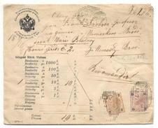 Geldbrief Chiesch ( Chyse ) 1895 Nach Nemecky Brod ( Havlíčkův Brod ) - Ganzsachen