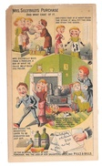 Victorian Trade Card Rising Sun Stove Polish Mrs Sillybillys Purchase Comic Humor - Other