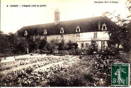 71 . Saone Et Loire :  Chagny : L ' Hopital  ( Coté Du Jardin  ) . - Chagny