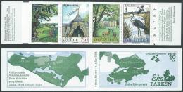 1996 SVEZIA LIBRETTO ECO PARCO DI STOCCOLMA MNH ** - A3 - Carnets