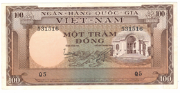 South Viet Nam, 100 Dong, UNC. Free Ship. To USA. - Vietnam