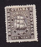 British Guiana, Scott #29, Mint No Gum, Seal Of Colony, Issued 1862 - British Guiana (...-1966)