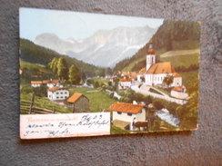 CPA  Ramsau Bei  Berchtesgaden 1903 - Allemagne