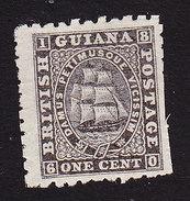 British Guiana, Scott #50, Mint Hinged, Seal Of Colony, Issued 1866 - British Guiana (...-1966)
