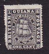 British Guiana, Scott #58, Mint Hinged, Seal Of Colony, Issued 1875 - British Guiana (...-1966)