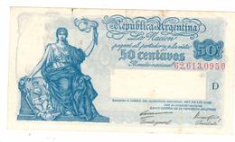 Argentina 50 Centavos 1935, XF. Free Ship. To USA. - Argentina