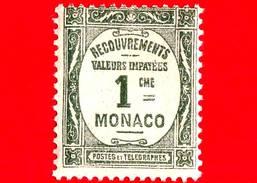 Nuovo - MNH - Principato Di MONACO - 1925 - Numeri - Francobolli Vaglia Postale - 1 - Fiscaux