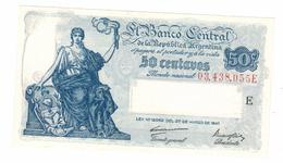 Argentina 50 Centavos 1948, UNC. Free Ship. To USA. - Argentina
