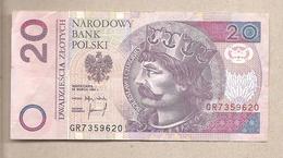 Polonia - Banconota Circolata Da 20 Zloty - 1994 - Polonia