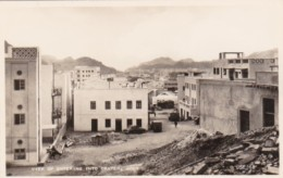Yemen Aden A View Of Entering Into Crater Steamer Point Real Photo - Yemen