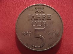 Allemagne République Démocratique - 5 Mark 1969 2661 - [ 6] 1949-1990 : RDA - Rép. Démo. Allemande