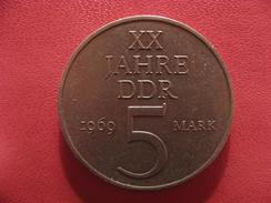 Allemagne République Démocratique - 5 Mark 1969 2663 - [ 6] 1949-1990 : RDA - Rép. Démo. Allemande