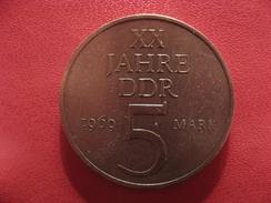 Allemagne République Démocratique - 5 Mark 1969 2665 - [ 6] 1949-1990 : RDA - Rép. Démo. Allemande