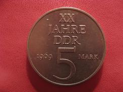 Allemagne République Démocratique - 5 Mark 1969 2669 - [ 6] 1949-1990 : RDA - Rép. Démo. Allemande