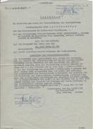 Todeserklärung Eines Verschollenen Deutschen Soldaten - Halberstadt 1958/1991  (26066) - Historische Dokumente
