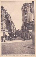 Bf - Cpa LORIENT - Rue Des Fontaines Vue De La Place D'Alsace Lorraine - Lorient