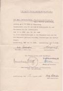 Deutsche Wehrmacht - Verpflichtungsschein Sanitätsabteilung 31 - 1938  (26069) - 1939-45