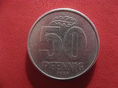 Allemagne République Démocratique - 50 Pfennig 1958 A 2808 - [ 6] 1949-1990 : GDR - German Dem. Rep.