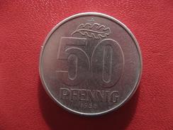 Allemagne République Démocratique - 50 Pfennig 1958 A 2810 - [ 6] 1949-1990 : GDR - German Dem. Rep.