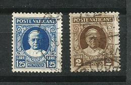 Vaticano, 1929_ Pio XI - Used Stamps