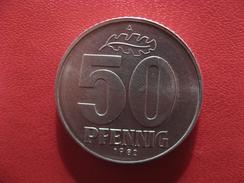 Allemagne République Démocratique - 50 Pfennig 1982 A 2894 - [ 6] 1949-1990 : GDR - German Dem. Rep.