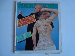 HARA KIRI  (Journal Pour Adultes) L'Arracheuse De Signatures  N° 230  Novembre 1980 ( Reiser, Wolinski, Hugot) - Humour