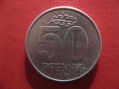Allemagne République Démocratique - 50 Pfennig 1958 A 2910 - [ 6] 1949-1990 : GDR - German Dem. Rep.