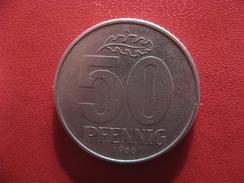 Allemagne République Démocratique - 50 Pfennig 1958 A 2922 - [ 6] 1949-1990 : GDR - German Dem. Rep.