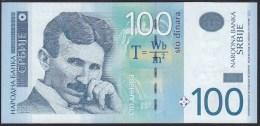 Serbia 100 Dinara 2013 P57b UNC - Serbia