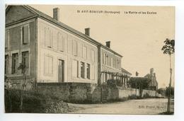 Saint Avit Sénieur La Mairie Et Les écoles - France