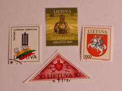 LITUANIE  1991-92  LOT # 11 - Lituanie
