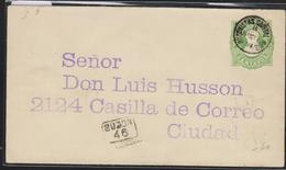 O) 1897 POSTAL STATIONERY, BERNARDINO RIVADAVIA,PROCER  REVOLUCION MAYO 1810,16 CENTAVOS GREEN, BUZONISTAS CANTAL N°2 - - Postal Stationery