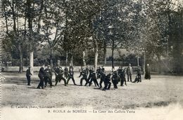 Ecole De Sorèze - La Cour Des Collets Verts - France