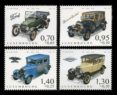 Luxembourg 2016 Mih. 2109/12 Historical Cars MNH **