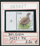 Buzin - Belgien - Belgique - Belgium - Belgie - Michel 3429 + PK - Vögel Buzin Oiseaux Birds -  - ** Mnh Neuf Postfris - 1985-.. Pájaros (Buzin)