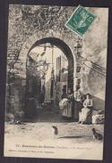 CPA 84 - BEAUMES-DE-VENISE - Le Portail Neuf - Très Belle ANIMATION à L'entrée De La Ville + Jolie Oblitération Verso - Beaumes De Venise