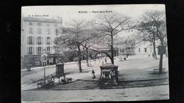CPA D71 Macon, Place De La Barre - Macon