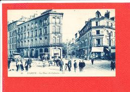 76 ROUEN Cpa Animée La Place Du Calvaire            49 LL - Rouen