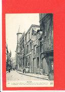 76 ROUEN Cpa Animée La Rue Saint Romain      483 ND - Rouen