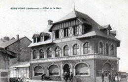 Cpa(08) Apremont  -  Hotel De La Gare (sepia) - Altri Comuni