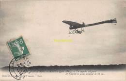 CPA AVIATION SEMAINE D'AVIATION ROUEN 1910 UN SUPERBE VOL PLANE DE HANRIOT LE JEUNE AVIATEUR DE 16 ANS - ....-1914: Précurseurs