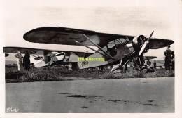 CPA AVIATION ISTRES CARTE DE PHOTO AVION DE TOURISME POTEZ 58 MOTEUR POTEZ Q AB - ....-1914: Précurseurs
