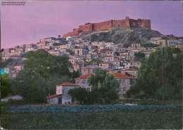 Lesbos, Moliwos, Die Burg, 1988 - Greece