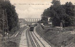 """V5325 Cpa 92 Val Fleury - Le Viaduc Pris De La Gare """" Train"""" - Antony"""