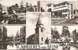 78 Yvelines :  Carrières-sur-Seine  Souvenir  De ( Multi Vue )  Réf 2563 - Carrières-sur-Seine