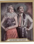 """CIGARETTES """"HAUS BERGMANN"""" -  PHOTOS ACTEURS CINEMA N° 126 - HILDE WEISSNER / JOSEF DAHMEN - Objets Publicitaires"""